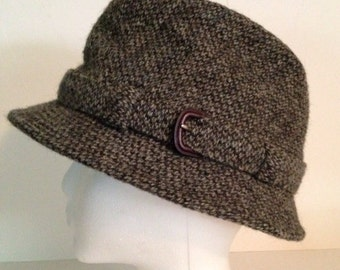 Vintage Wool Hat Made in England