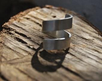 Wrap Ring - Sterling Silver Ring - Handmade - minimal design
