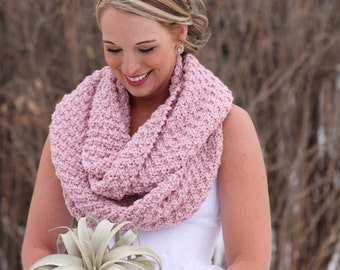 CUSTOM Order - Hidden Sparkles - Hand Knitted COWL / Hand Knitted  Snood / Infinity Scarf / Loop Scarf / Cozy Snood / Soft Cowl