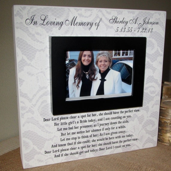 Personalized In Loving Memory Mom Mother By Wordsofwisdomnh