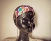 Irma - boho gypsy bollywood floral festival headband
