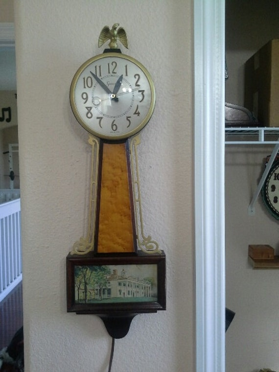 Vintage Sessions Electric Banjo Wall Clock Mount Vernon