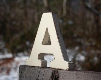 "5"" Wedding Table Letters Numbers Stand alone, Wooden, Wedding reception, Painted"