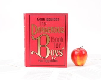 Book iPad Cover- Tablet Case made from a Book- Dangerous Book for Boys