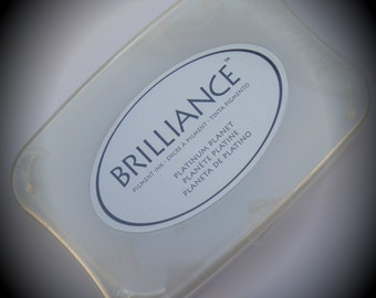 Tsukineko Brilliance Acid Free Platinum Planet Color Ink Pad