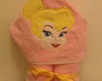 Pixie/Fairy Hooded Bath Towel