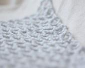 "Mini ""Lovey Corral"" - Crochet Toy Hammock - Stuffed Animal Organizer in Steel Grey"