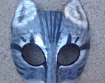 Cat mask, tabby cat mask
