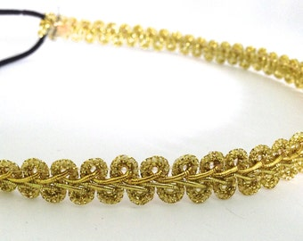 Gold Decorative Headband