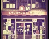 City Photo Portland Everyday Music--Fine Art Photography 8x8