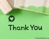 Heart & thank you 02 Rubber Stamp set
