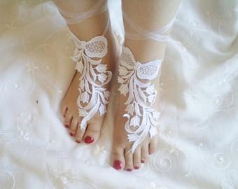 Wedding Sandals, Tulips Shoes, beach shoes, bridal sandals, bohemian fashion accessories, barefoot sandles, beach wedding,