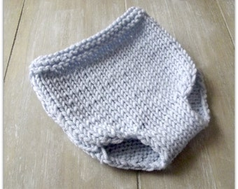 Newborn Photo props diaper cover/Hand knit diaper cover for babies/Photo props knitted diaper cover in many colors