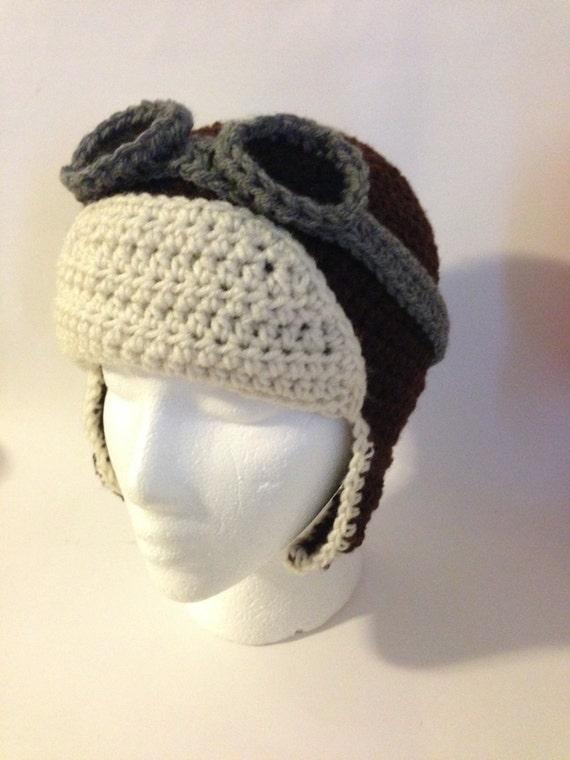 Free Crochet Pattern For Aviator Hat : Crochet Aviator Hat Pattern