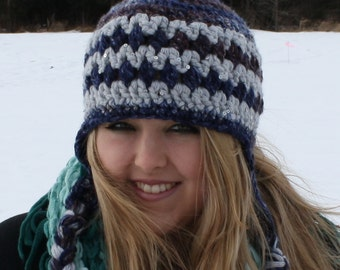 SALE PRICED!!! Women's Earflap Hat/Ready to Ship