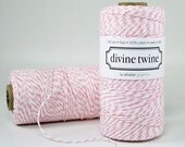 Cotton Candy Divine Twine Baker's Twine 240 Yards, Full Spool