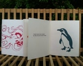 Zine: I Want A Crayfish's Heart--sewn pamphlet book