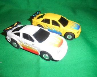 Two (2), Arvin, Slot Car Racers.