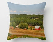 Farm on a pillow landscape in Traverse City Michigan