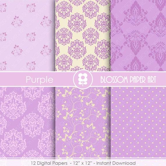 Papeles decorativos lila violeta papeles decorativos - Papeles decorativos pared ...