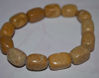 Brown Riverstone Bracelet