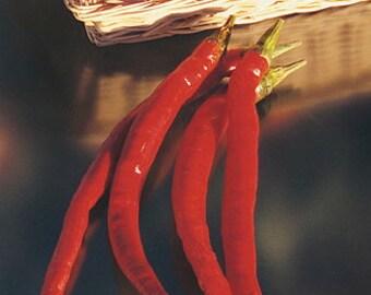 """Pepper Seeds - """"Joe's Long""""  Cayenne"""