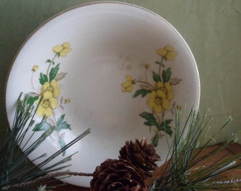 Edwin Knowles Dessert Bowl , Buttercup Pattern