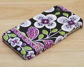 Purple Floral iPhone 6S case iPhone 6 case iPhone 6S Plus case iPhone 6 Plus case iPhone 5S case iPhone 5 case iPhone 4S case iPhone 4 case