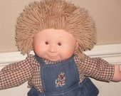 Vintage Boy Cabbage Patch Doll