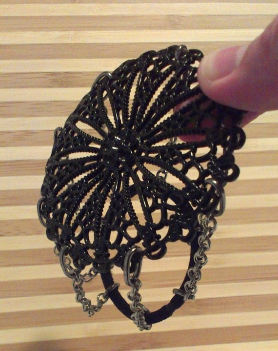 Steampunk Bun Cover Hair Accessory