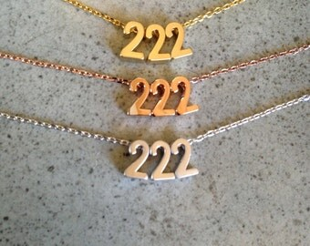 Number necklace, numbers necklace, personalized number necklace, personalized