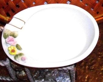 Vintage Lefton Porcelain Ashtray or ring holder, never used, gifts under 10