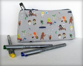 Star Wars Kids - Large Pouch or Pencil Case - USE THE FORCE