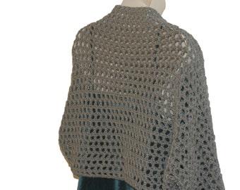 Gray Shrug, Plus Size Sweater, Womens Plus Size, Large Shrug, Bolero Jacket, Over Size Sweater, Plus Size Clothes, Gray Bolero