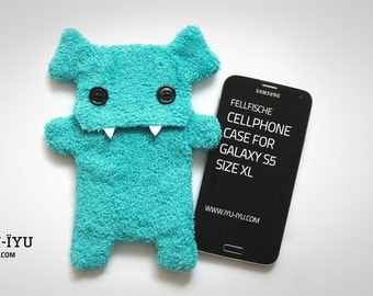 Fluffy Cellphone Case for Samsung Galaxy S5 & S6 - Size XL