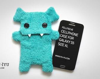 Fellfische Cellphone Case - Turquoise - Various Sizes