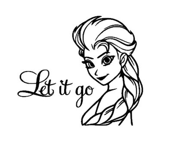Elsa Frozen .SVG Files For Your Cutting Software