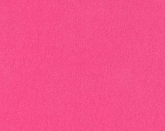 "SALE--Laguna Jersey (58"" knit)--Cherry (medium pink)--Robert Kaufman--price is per yard"