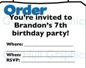 Custom Order Invite