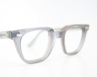 Safety Vintage Eyeglass Frames Retro Eyeglasses 1960's vintage eyewear  Vintage Eyeglasses