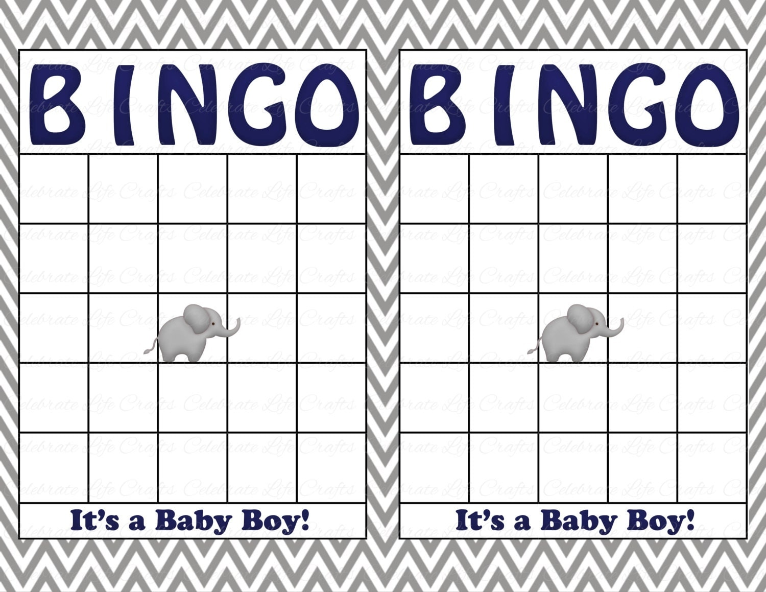 It's just a photo of Ridiculous Printable Baby Bingo Cards