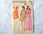 Vintage Butterick 5556 Robe Pattern Size 14 Bust 36 Uncut