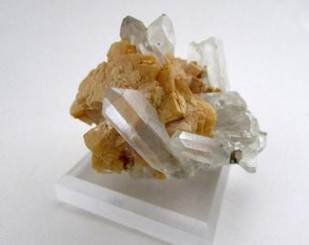 Mineral Specimen - Ankerite, Quartz, Pyrite - Spruce 17 Claim, King Co., Washington, USA - geology - NearEarthExploration