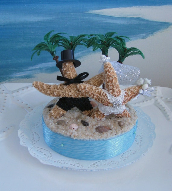 wedding cake beach toppers starfish on a wedding cake topper palm tree wedding cake 21995