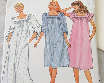 Butterick 4361 womens dress, night gown, lounge size small