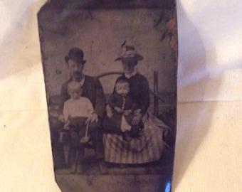 Fabulous Antique Tin Type *Photo