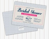 20 - Polka Dot Bridal Shower Invite | 5x7 | Double Sided