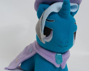 CHIBI Trixie MLP Hand-Made Custom Craft Plush