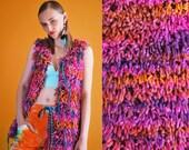 UTHA Fluffy Knit Vest