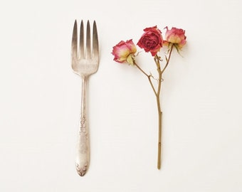Vintage Cold Meat Fork, National Silver Plate, Silver Plated Meat Fork, Vintage Serving Fork
